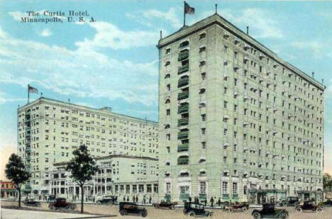 Curtis Hotel, Minneapolis Minnesota, 1920's