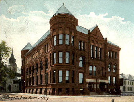 Minneapolis Public Library, Minneapolis Minnesota, 1906