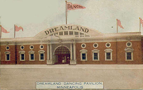 Dreamland Dancing Pavilion, Minneapolis Minnesota, 1910