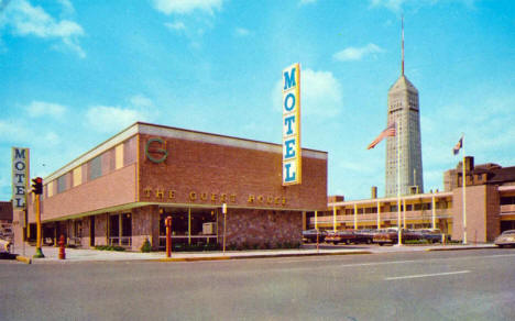 Guest House Motel, Minneapolis Minnesota, 1960's
