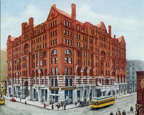 West Hotel, Minneapolis Minnesota, 1900's
