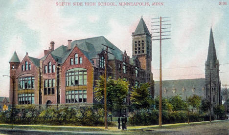 South High School, Minneapolis Minnesota, 1910's
