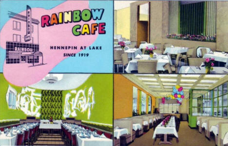 Rainbow Cafe, Minneapolis Minnesota, 1940's