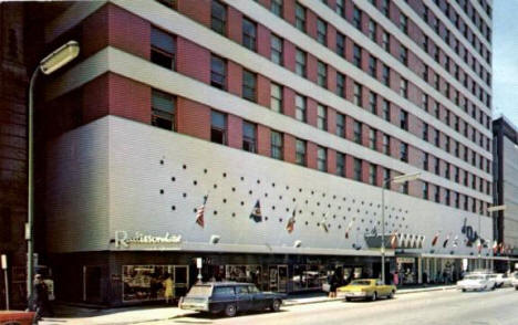 Radisson Hotel, Minneapolis Minnesota, 1960's