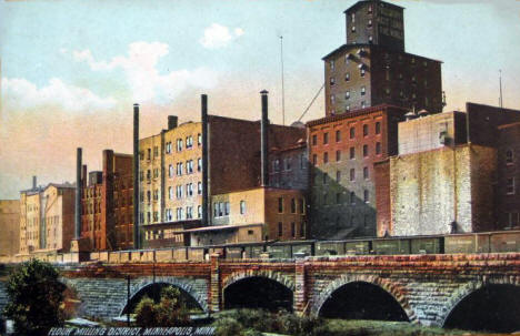 Minneapolis Milling District, 1909