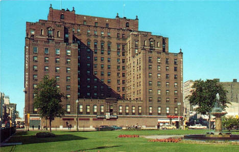 Nicollet Hotel, Minneapolis Minnesota, 1950's