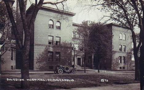 Swedish Hospital, Minneapolis Minnesota, 1913