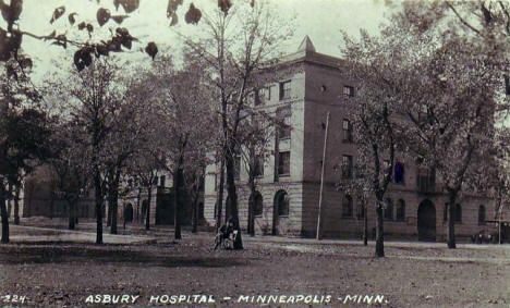Asbury Hospital, Minneapolis Minnesota, 1914