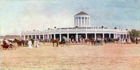 Lake Harriet Pavilion, Minneapolis Minnesota, 1905