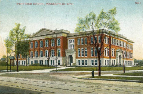 West High School, Minneapolis Minnesota, 1910
