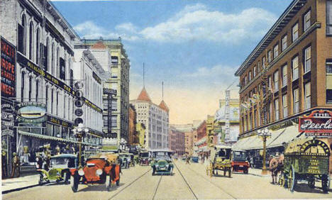 3rd Street, Minneapolis Minnesota, 1917