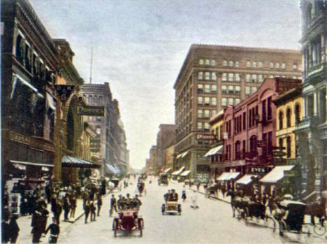 Nicollet Avenue, Minneapolis Minnesota, 1905