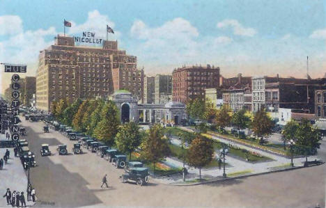 Gateway Park, Minneapolis Minnesota, 1918