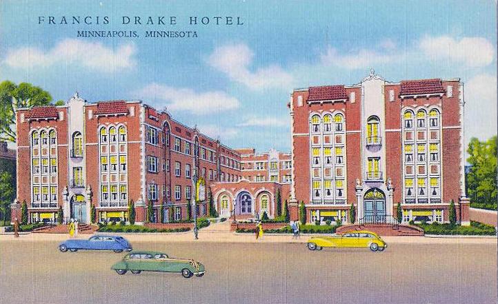 Francis Drake Hotel Minneapolis Minnesota 1930 S