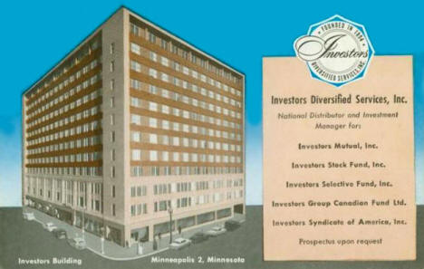 Investors Diversified Services (IDS) Building, Minneapolis Minnesota, 1960's