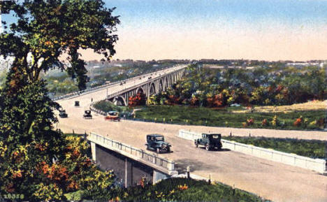 Mendota Bridge, Minneapolis Minnesota, 1930's
