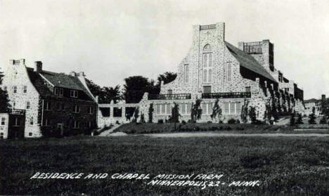 Mission Farm Residence and Chapel, Minneapolis Minnesota, 1950's?