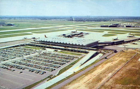 International Airport, Minneapolis Minnesota, 1960's