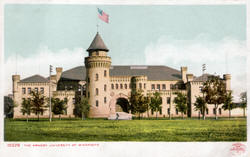 Armory at the University of  Minnesota, 1905