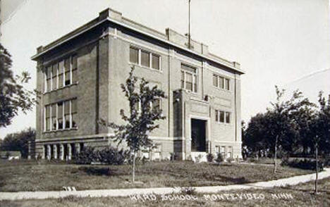 Ward School, Montevideo Minnesota, 1910's?