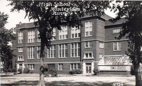 High School, Montevideo Minnesota, 1931