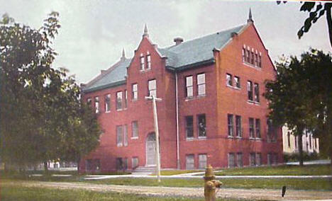 Montevideo High School, Montevideo Minnesota, 1909