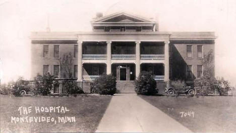 Hospital, Montevideo Minnesota, 1929