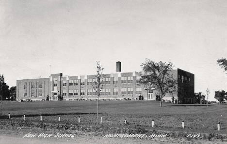 New High School, Montgomery Minnesota, 1940's