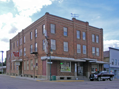 Monty Hotel and Bar, Montgomery Minnesota, 2010