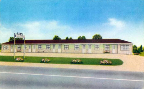 Moose Lake Motel, Moose Lake Minnesota, 1966