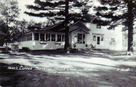 Hart's Coffee House, Moose Lake Minnesota, 1950's?