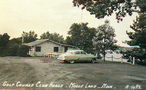 Golf Course Club House, Moose Lake Minnesota, 1958