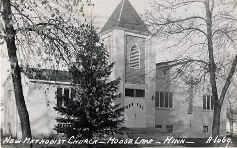 New Methodist Church, Moose Lake Minnesota, 1970