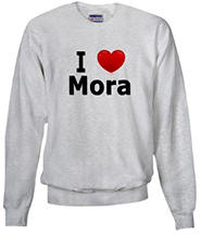 I Love Mora Sweatshirt