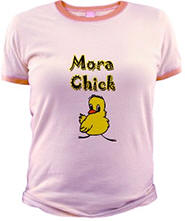 Mora Chick Jr. Ringer T-Shirt