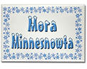 Mora Minnesnowta Rectangle Magnet