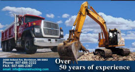 Timm's Trucking & Excavating, Morristown Minnesota