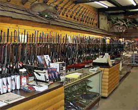 Ahlman Gun Shop, Morristown Minnesota