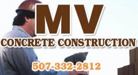 M V Concrete Construction, Morristown Minnesota