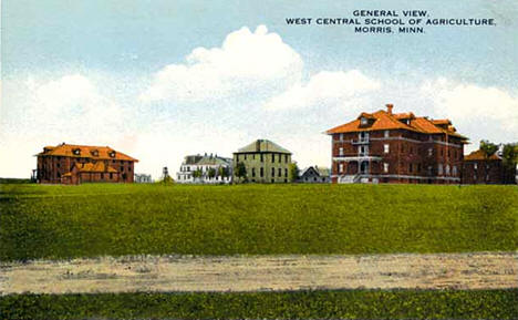 West Central School of Agriculture, Morris Minnesota, 1925