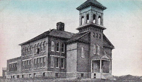High School, Morton Minnesota, 1900's