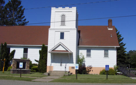 Former Church, Motley Minnesota, 2007