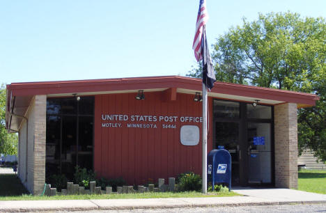 US Post Office, Motley Minnesota, 2007
