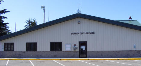 City Hall, Motley Minnesota, 2007