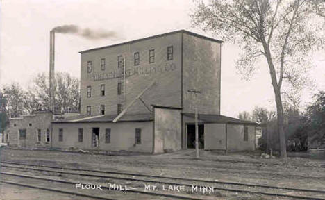 Flour Mill, Mountain Lake Minnesota, 1920's?
