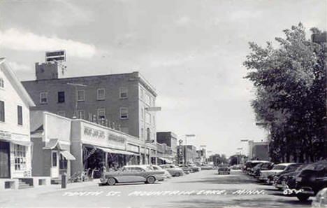 Tenth Street, Mountain Lake Minnesota, 1950's
