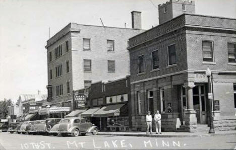 10th Street, Mountain Lake Minnesota, 1930's?