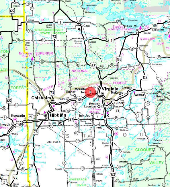 Mountain Iron Minnesota City Guide