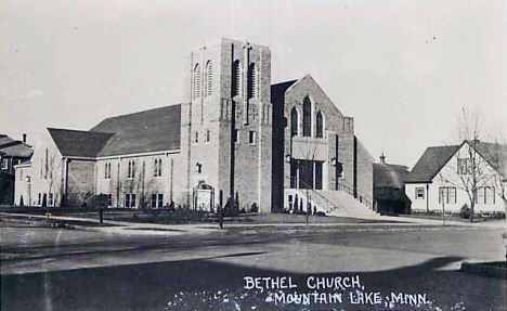 Bethel Church, Mountain Lake Minnesota, 1950's