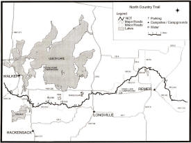 North Country Scenic Trail Map